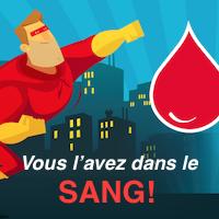 Donnez votre sang!